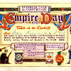 Thumbnail: Empire day Certificate issued to Nora Furniss.