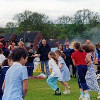 Thumbnail: Woodford Halse School Country Dancing 2002.