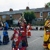 Thumbnail: Woodford Halse School and Church festival April 1992, Dandiya Raas Dance.