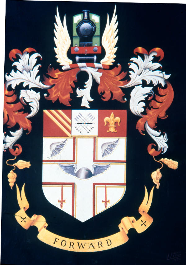 Great Central Railway Coat of Arms.