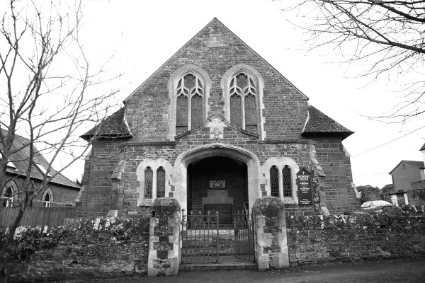Front View of Methodist Church