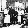 Thumbnail: Chadwick family, taken in the 1950s at the rear of 31 Nelson Avenue.