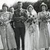 Thumbnail: Wedding of Edith Kite and Edward Hisom 1946.