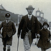 Thumbnail: Neville, Frederick, and Betty Shrimpton 1925