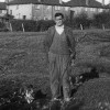 Thumbnail: William Charles Burt with his dog on the site of Anscomb Way.