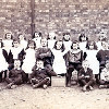 Thumbnail: Standard 1 Class, Woodford Church School 1903.