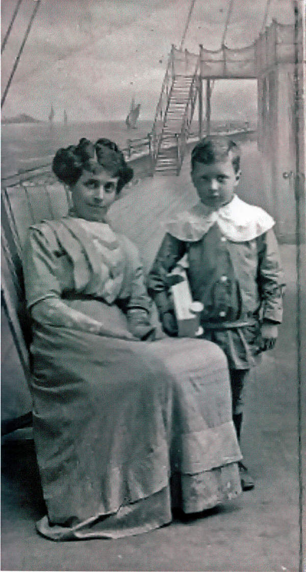 Celia and William Coulson posing for portrait photograph.