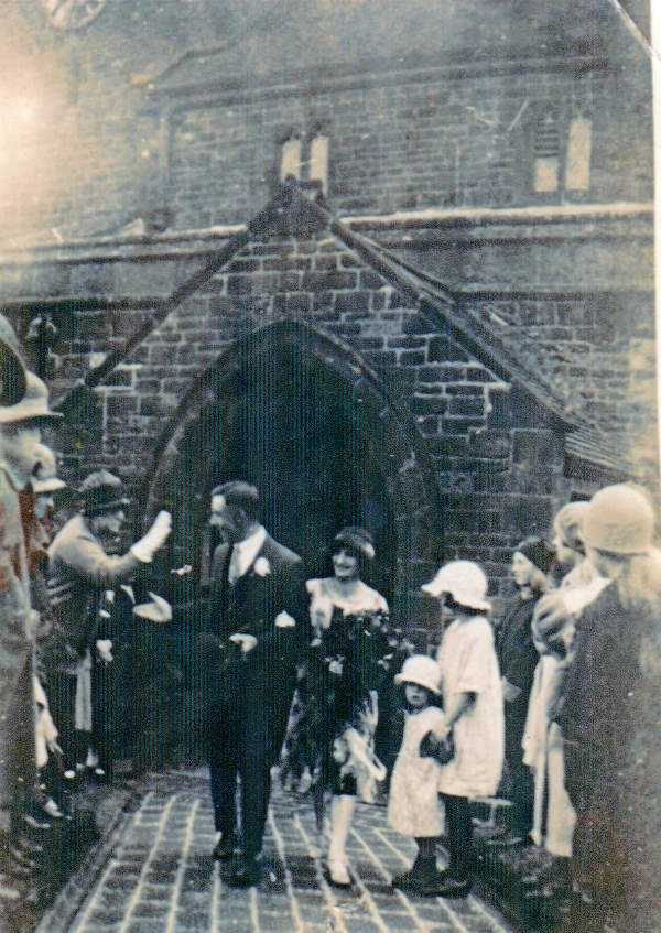 John and Doris Wotherspoon's Wedding 1922.